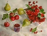 Чарка вишневої наливки, автор - Юрій Ботнар