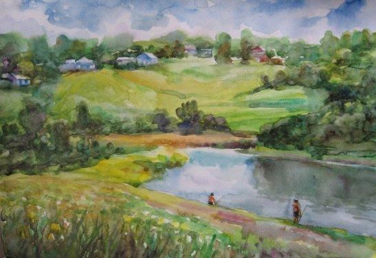 На згадку про літо, автор - Юрій Ботнар