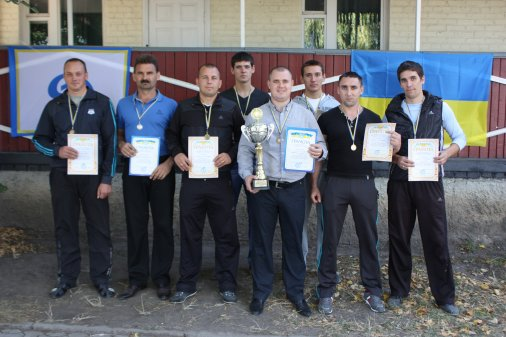 Комплексні змагання серед правоохоронних органів області