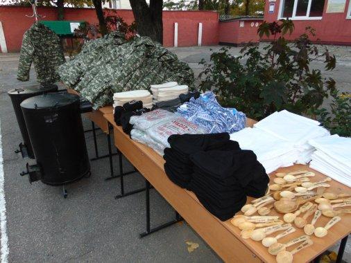 Пенітенціарії Кіровоградщини надали благодійну допомогу учасникам АТО
