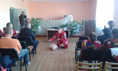 У Кіровограді волонтерів навчають надавати домедичну допомогу