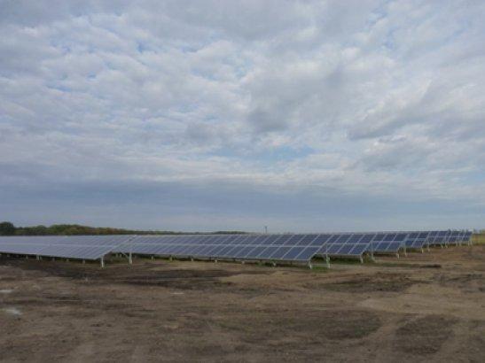 Сонячна електростанція у селі Іванівка
