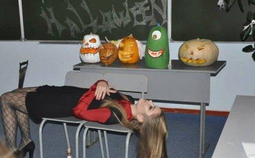 Свято «Хелловін» в Кіровоградському інституті комерції