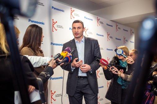 Віталій Кличко разом з дітьми склав екологічний кодекс українця