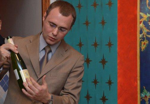 Даниил Замойский рассказал кировоградцам о вине