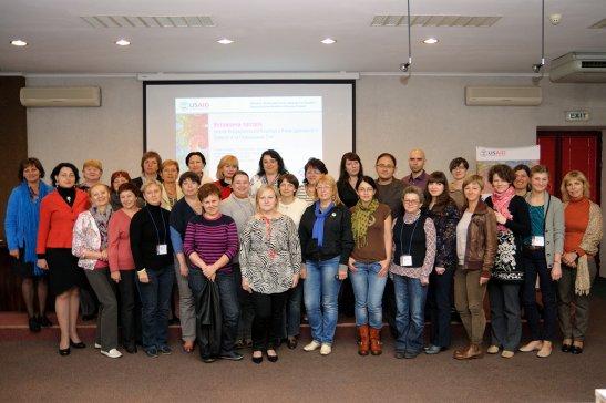 Члени Всеукраїнської коаліції з репродуктивного здоров'я і планування сім'ї