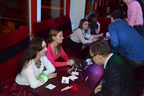 Перший фестиваль «Швидких побачень»:  І приємно, і благодійно