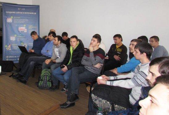 Участники встречи Kirovohrad mobile meetup