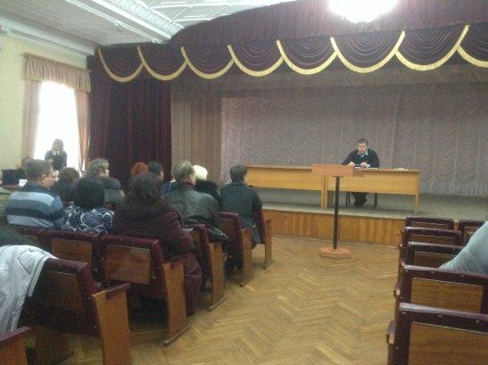 Засідання ради - головує Сергій Горбовський