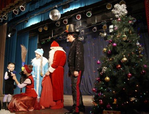 Новорічна феєрія на Балашівці