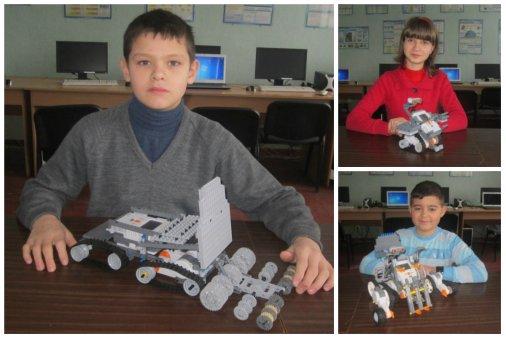 Добровеличківські діти конструюють роботів