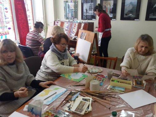 Кировоградцы пробовали свои силы в живописи