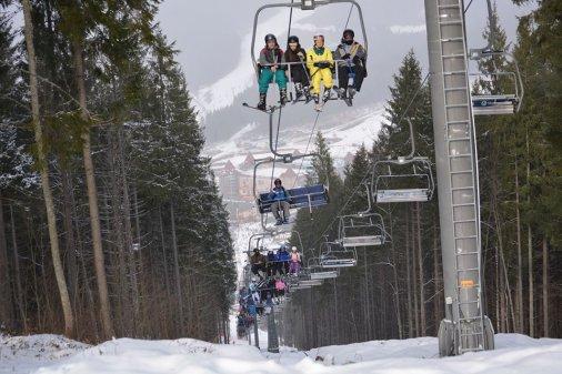 Лыжный сезон в самом разгаре