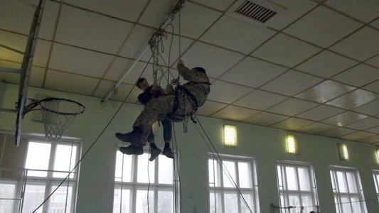 Кіровоградські школярі відпрацьовували військову підготовку