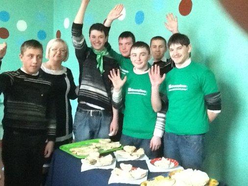 Учні Піщанобрідської школи-інтернату та кіровоградські банкіри разом святкували Масницю