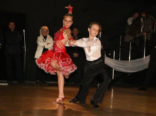 """Танцюристи клубу спортивно-бальних танців """"Олімп"""" показали клас"""