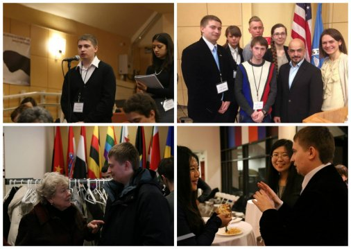 Кіровоградський студент представив Україну на симпозіумі у США