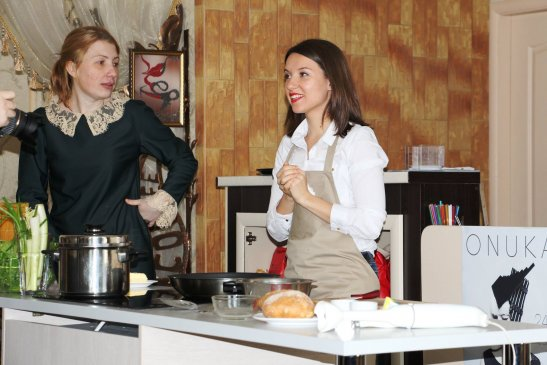 Ольга Лапина и Екатерина Резниченко