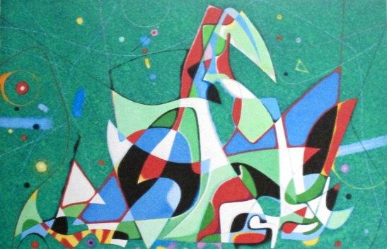 Федір Лагно «Вікторія»,  2012,  папір, гуаш розмір 60х80 см стартова ціна - 3000 грн.