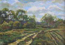 Анастасія Плітіна «Пейзаж», 2015 картон, олія розмір 25х35 стартова ціна - 350 грн.