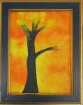"""Юлія Степанок """"Пробудження"""" 2014 картон, акрил розмір 20х18 см стартова ціна - 150 грн."""