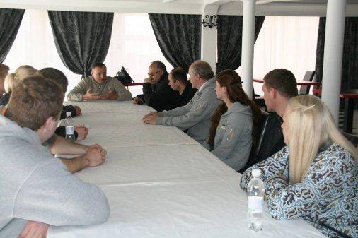 Вперше у Кіровограді проходять навчально-тренувальні збори збірної команди України з легкої атлетики