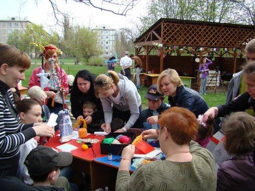 Особенные детки провели день окружающей среды