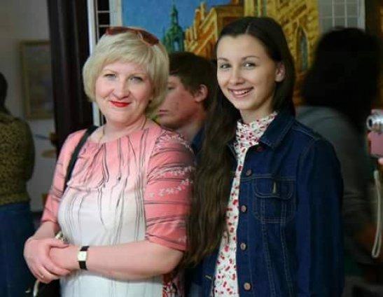Ірина Остапчук з мамою Валентиною