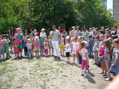 Літо - пора розваг: для кіровоградських дітей влаштували свято!