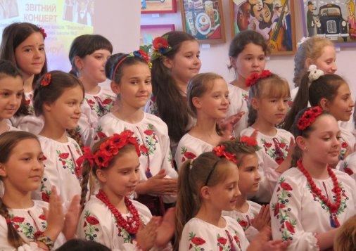 Хор «Веселка» співає: «Я – українець, і це – назавжди!»