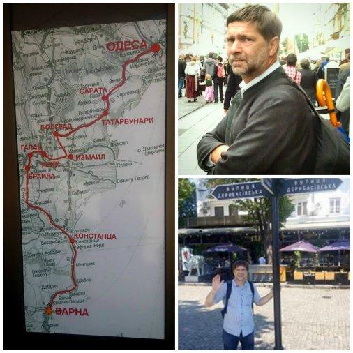 Австрійський журналіст присвятив свою літню відпустку подорожі в Україну