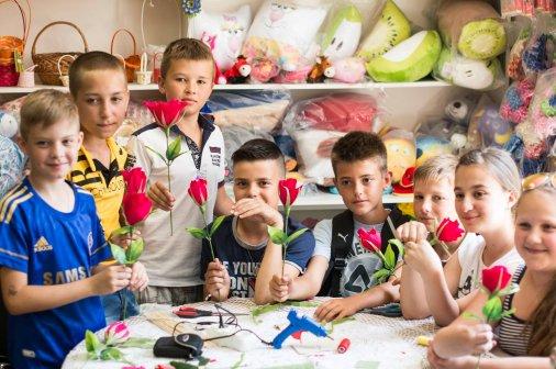 Летний креатив: Мастер-классы для деток в Кировограде