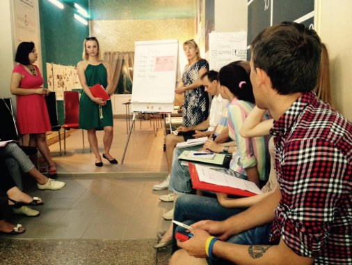 """Два десятки проектів соціальної дії створили кіровоградці під час тренінгів """"Активні громадяни"""""""