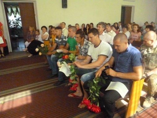 У Новомиргороді учасники АТО отримали посвідчення