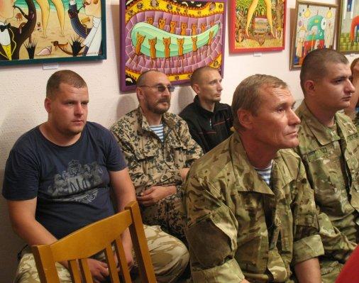 День народження 42-го батальйону територіальної оборони відсвяткували у музеї
