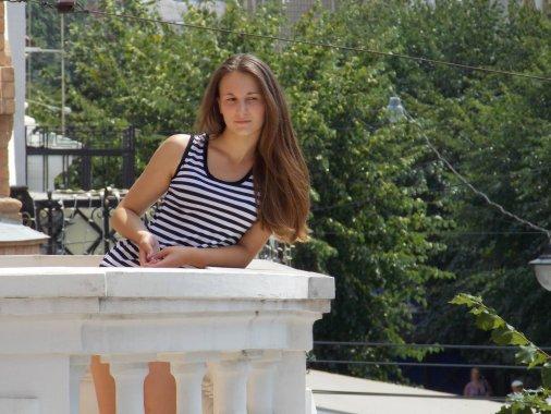 Фотосесію просто неба - на вулиці Дворцовій - влаштували бібліотекарі