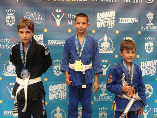 Наши в Испании: Кировоградец Егор Полоз стал Чемпионом по бразильскому джиу-джитсу!