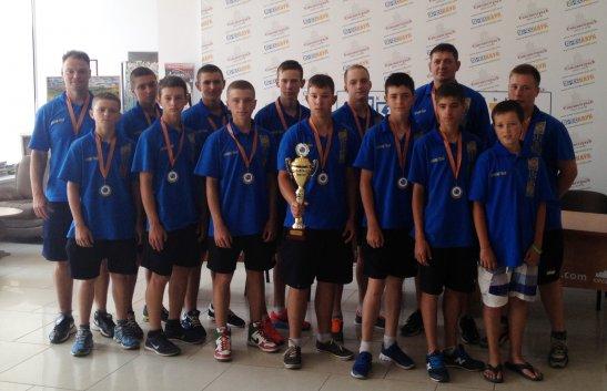 Кіровоградська частина збірної України U-15