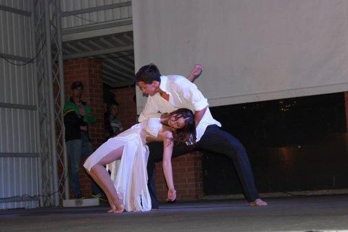 Зірковий вечір: у Кіровоградському Дендропарку танцювали всі