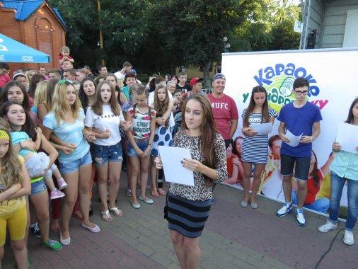 """У Дендропарку відгримів останній відбірковий тур проекту """"Караоке у Дендропарку""""!"""