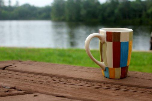 Найкраща кава - на озері!