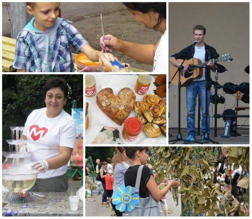 В Ковалевском парке прошел благотворительный концерт в поддержку бойцов АТО