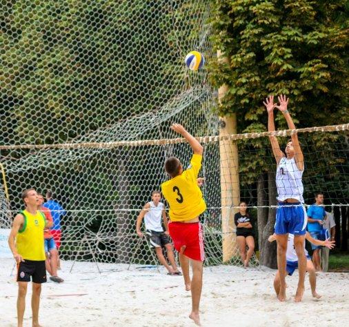 Відбулось урочисте відкриття третього Чемпіонату з пляжного волейболу-2015