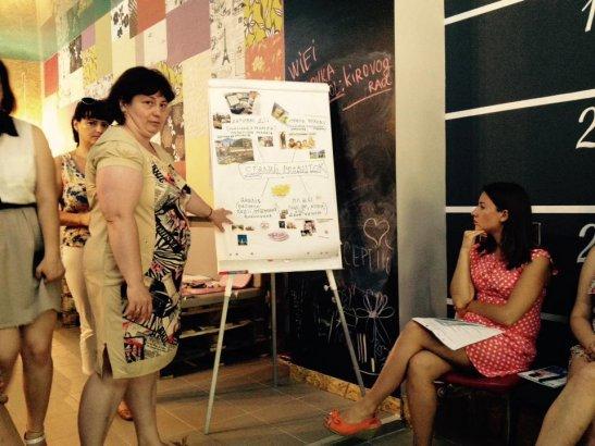 Маріанна Маковій презентує ідеї сталого розвитку