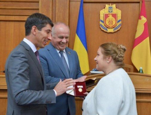 Антоніна Червінська отримала орден княгині Ольги І-го ступеня