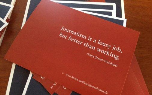 Якісна журналістика у демократичному суспільстві: Німецька Асоціація якісної журналістики