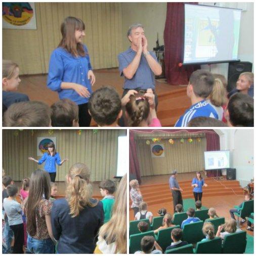 Волонтер із США розповів школярам про еко-звички американців