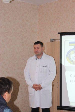 Геннадій Сябренко, головний лікар госпіталю