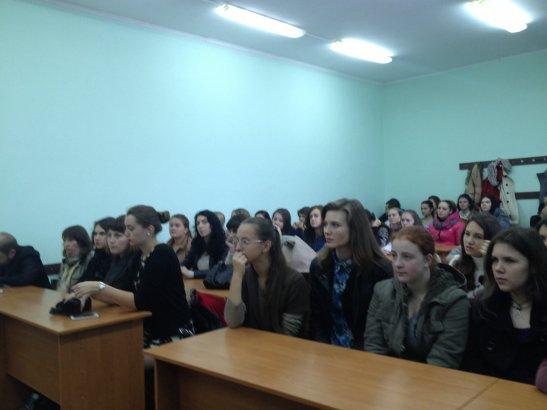 студенты на встрече с Рами Колехмайненом