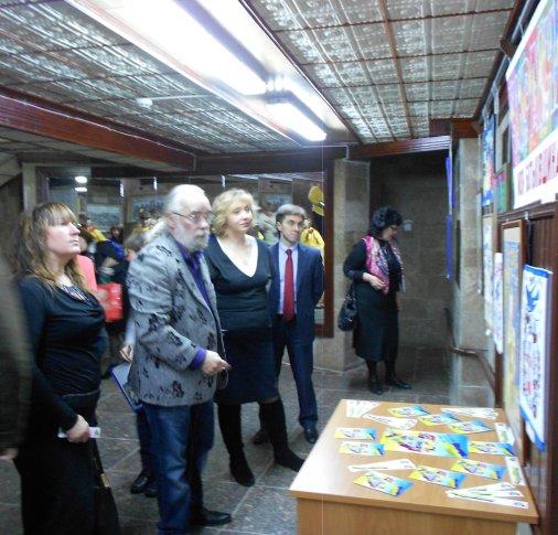 У музеї Осьмьоркіна дуже люблятьУкраїну!